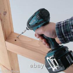 Makita 18V DHP458Z Combi Drill with DTD152Z Impact Driver Twin kit Body Only