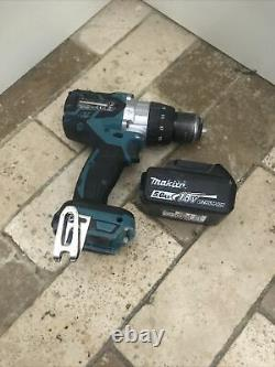 Makita DHP481 LXT 18V Cordless Brushless Combi Hammer Drill with 5.0Ah battery