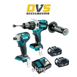 Makita DHP481Z 18v LXT Brushless Combi Drill + Makita DTD171Z 18V Impact Driver
