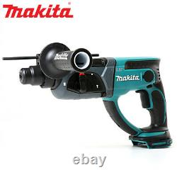 Makita DHR202 18V SDS Plus LXT Rotary Hammer Drill With Case & 17pc Drill Bit