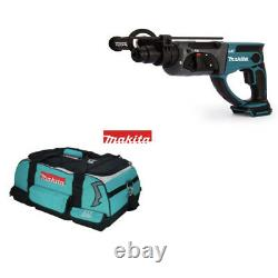 Makita DHR202 DHR202Z 18V LXT Hammer Drill with LXT400 tool bag