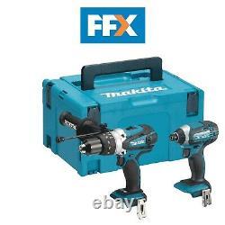 Makita DLX2145Z 18V Hammer Drill and Impact Driver Bare Unit Combo