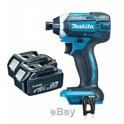 Makita DTD152Z 18V LXT Impact Driver & 2x BL1850 5.0Ah Batteries