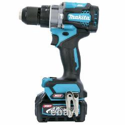 Makita HP001GD202 40v Max XGT Brushless Combi Drill With 2 x 2.5Ah Batteries