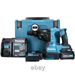Makita HR003GD101 40v Max XGT SDS Plus BL Rotary Hammer Drill +1 x 2.5Ah Battery