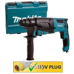 Makita HR2630 SDS + 3 Mode Rotary Hammer Drill Heavy Duty 110V with Case
