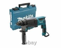 Makita Rotary Hammer Drill SDS+ 26mm HR2630 240v in Carry Case