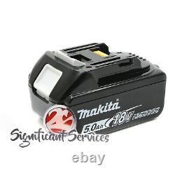 Makita XPH14Z 18V LiIon Brushless 1/2 Hammer Driver Drill 5.0 Ah Battery Kit