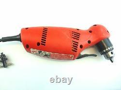 Milwaukee 0375-1 Close Quarter 3/8 Heavy-Duty Right Angle Drill Variable Speed