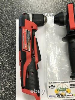 Milwaukee 2712-20 M18 FUEL 1 SDS Plus Rotary Hammer + 3/8'' Right Angle Drill