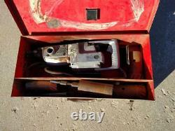 Milwaukee 5300 Heavy Duty Rotary Hammer Drill, Case and carbide core bits