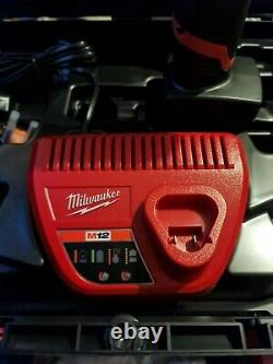 Milwaukee M12FPD-0 12v Combi Drill Fuel Cordless +6.0Ah Battery+charger+case