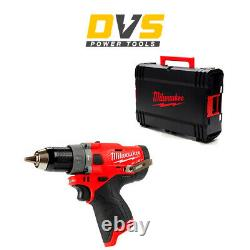 Milwaukee M12FPD-0 M12FPD-0X 12V M12 FUEL Hammer Drill Driver with HD Box