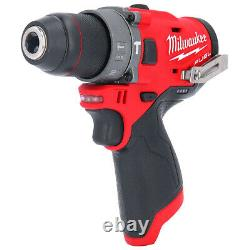 Milwaukee M12FPD 12V Fuel Combi Drill With 70Pc Accessory Set in Aluminum Case