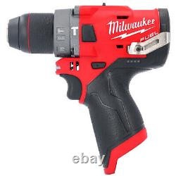 Milwaukee M12FPD 12V Fuel Percussion Combi Drill With 2 x 6.0Ah Batteries