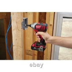 Milwaukee M18 18-Volt Lithium-Ion Cordless Drill Driver/Impact Driver Combo Kit