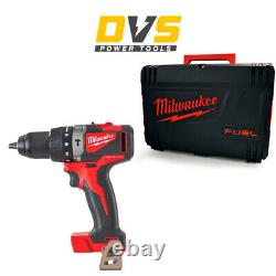 Milwaukee M18BLPD2-0X M18BLPD2-0 M18 Compact Brushless Percussion Drill + Case