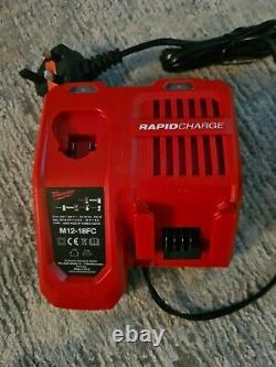Milwaukee fuel rip saw, Jigsaw, Combi Drill, Rapid Charger, 2 5amp Batteries