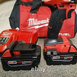 Milwaukee2804-22M18 FUEL 18V 1/2 Lithium-Ion Brushless Hammer Drill SetNew