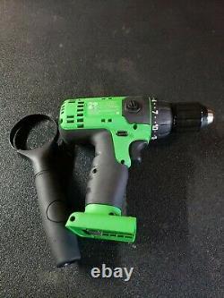 Mint! Snap-on CDR8815G GREEN 18V 1/2 MonsterLithium Li-ion Cordless Drill