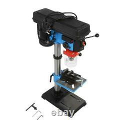 New Heavy Duty 550W 220V Rotary Pillar Drill 9 Speed Press Drilling Bench Press