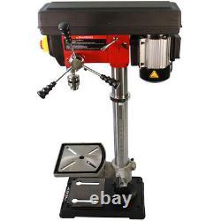 New Heavy Duty 600W 16mm Rotary Pillar Drill 12 Speed Press Drilling Bench Press