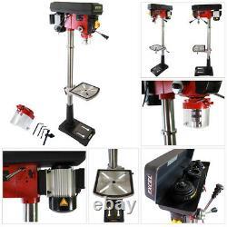 New Heavy Duty 600W 20mm Rotary Pillar Drill 12 Speed Press Drilling Bench Press