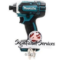 New Makita 18V XDT11 Cordless 1/4 Impact Driver Drill 5.0 Ah Battery Kit
