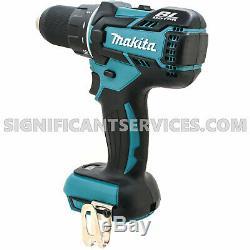 New Makita XFD06 18V LXT Brushless Cordless 1/2 Drill Driver 5.0 Ah Battery Kit
