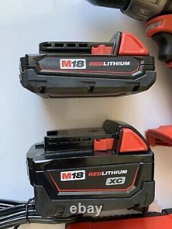 New Milwaukee 1/2 M18 2603-22 Drill Driver Set