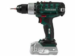 New Parkside 20v Cordless Drill With Led Work light, Li-ion Battery & Charger
