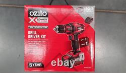 Ozito power X change 13mm cordless drill driver kit 18V with 3.0 Ah battery