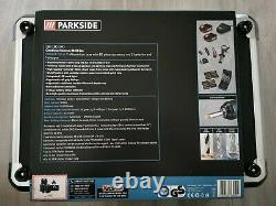 PARKSIDE PERFORMANCE CORDLESS HAMMER DRILL SET 20V & Case 60PIECE FastFree