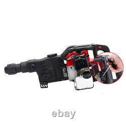 Petrol Hammer Drill 2-Stroke 32.7CC Breaker Demolition Jackhammer Heavy Duty