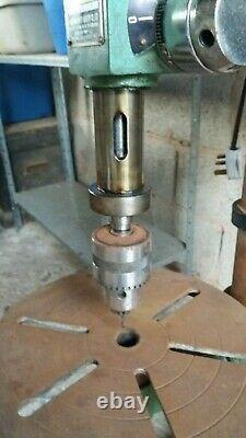 Pillar drill used kuan tai heavy duty drill press electric