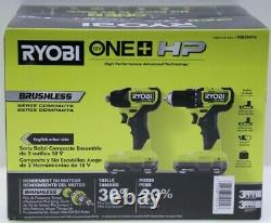 RYOBI PSBCK01K Brushless Compact 1/2 in Drill and Impact Driver BRAND NEW SEALED