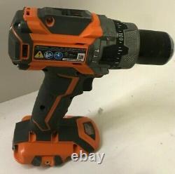 Ridgid R86116K 18V BRUSHLESS Compact Hammer Drill Driver Combo Kit Set, GR