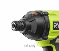 Ryobi R18PDID2-215S Cordless Drilling & Driving Starter Kit
