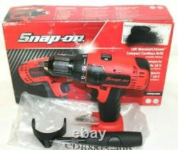 Snap-on CDR8815 18V 1/2 MonsterLithium Li-ion Cordless Drill Driver New